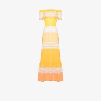 Lemlem Eshal off-the-shoulder midi dress