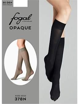Fogal Opaque 30D Knee Hi - Midnight