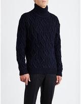 Sandro Mont Knitted Turtleneck Jumper