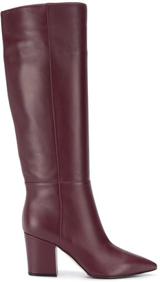 Sergio Rossi Knee-Length Pointed Toe Boots