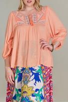 Flying Tomato Embroidered Blouse