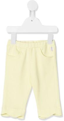 Il Gufo Scalloped Cotton Trousers