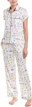 Jane & Bleecker Jane & Bleeker 2Pc Pajama Pant Set
