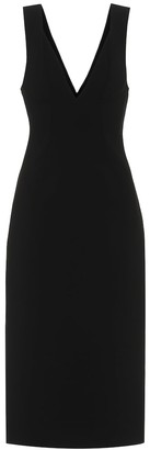 Victoria Beckham V-neck midi dress