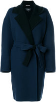 Rochas belted wrap coat