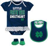 Baby Girl Notre Dame Fighting Irish Bodysuit Set