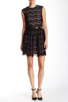 Andrew Marc Two-Piece Set A-Line Dress