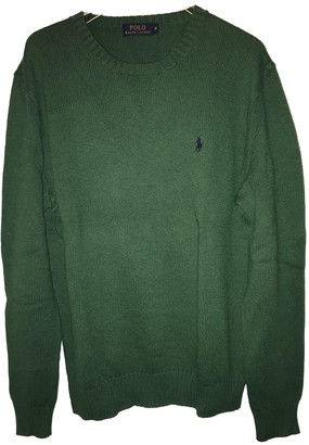 Polo Ralph Lauren Green Cotton Knitwear & Sweatshirts