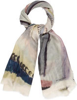 Burberry Multicolor Abstract Scarf