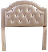 Hillsdale Furniture Karley Headboard, Headboard Frame Included, Champagne Faux Leather, Tw