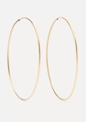 Loren Stewart Infinity Gold Hoop Earrings - one size