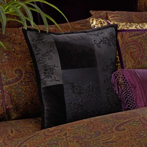 New Bohemian Beaded Pillow