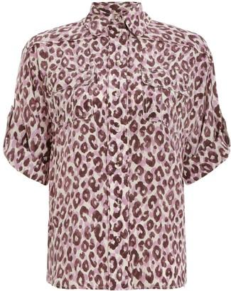 Zimmermann Silk Safari Shirt