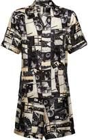 Prada printed pyjamas