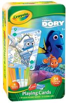 Crayola Disney / Pixar Finding Dory Color Your Own Playing Cards Set by