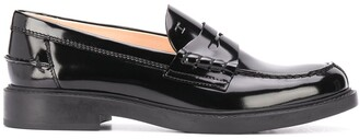 Tod's Patent Penny Loafers