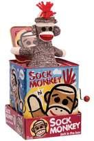 Schylling Sock Monkey Jack-in-the-box.