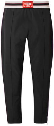 P.E Nation Zip-embellished Tech-jersey Track Pants