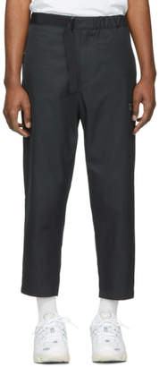 Oamc Navy Belt Trousers