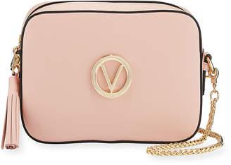 Mario Valentino Valentino By Babette Leather Tassel Crossbody Bag
