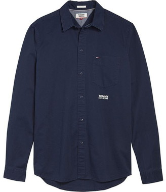 Tommy Hilfiger Tommy Jeans Solid Twill Shirt
