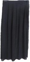 Iris & Ink Black Skirt for Women
