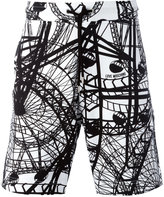 Love Moschino 'London Eye' print shorts - men - Cotton - S