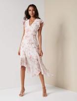 Ever New Jenna Ruffle Sleeve Maxi Dress