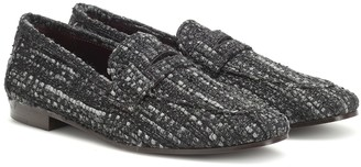Bougeotte Tweed loafers
