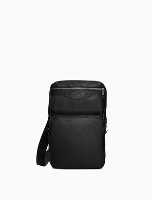 Calvin Klein Pebble Essentials Leather Sling Backpack