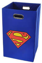 Modern Littles Superman Logo Folding Laundry Hamper