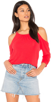 Michael Stars Exposed Shoulder Tee