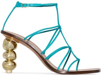 Cult Gaia Pietra 90 strappy sandals