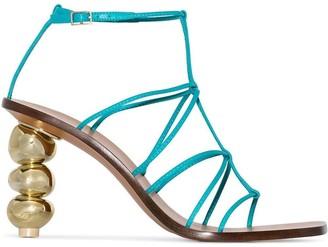 Cult Gaia Pietra 90 strappy sandals