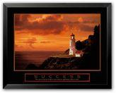 """Art.com Success: Lighthouse"""" Framed Art Print"""