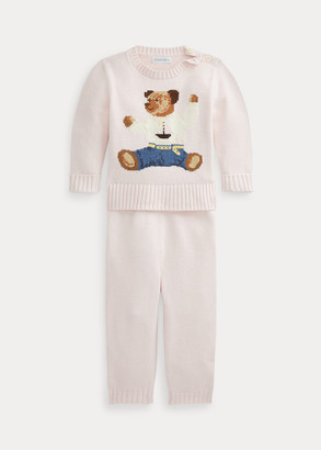 Ralph Lauren Polo Bear Sweater & Pant Set