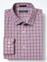 Banana Republic Camden-Fit Cotton Stretch Non-Iron Tri-Plaid Shirt