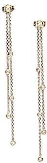 Bloomingdale's Diamond Double Chain Drop Earrings in 14K Yellow Gold - 100% Exclusive