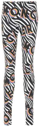 Moncler Genius 0 RICHARD QUINN zebra-print leggings