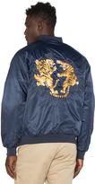 10.Deep Tiger Claw Satin Jacket