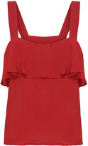2nd Day 2ND Charlie strappy frill top in red - UK10 - Red