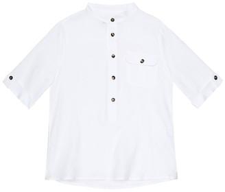 Loro Piana Kids Linen shirt