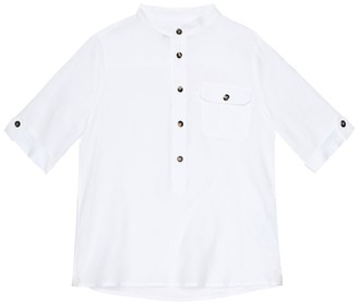 Loro Piana Kids Linen shirt