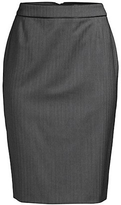 HUGO BOSS Vimena4 Herringbone Skirt