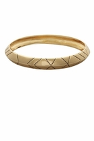 House Of Harlow Rose Gold Thick Stack Bangle