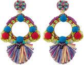 Ranjana Khan Multi Round Embellished Clip-On Earrings