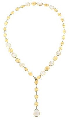 Marco Bicego Lunaria 18K Yellow Gold, Mother Of Pearl & Diamond Necklace
