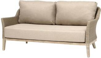 Kettler Cora Lounging 3 Seater Sofa, FSC-Certified (Acacia), Smoke White