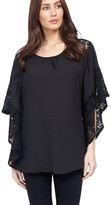 M&Co Izabel lace sleeve top