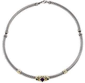 David Yurman Renaissance Collar Necklace